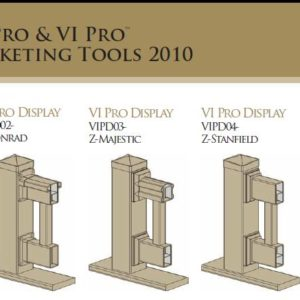 VI Pro Railing Marketing Displays