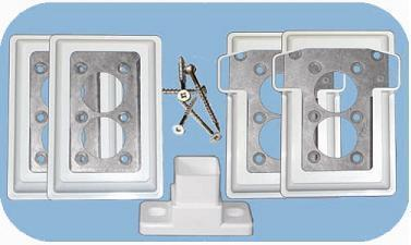 Metal Mounting Bracket Kit w/Screws