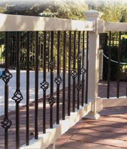 """CSC """"Z-Series"""" Routed Railing Kits (spindles not included)"""